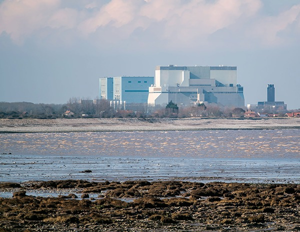 The site of the new nuclear power station project Hinkley Point C. Photograph: Joe Golby/123RF