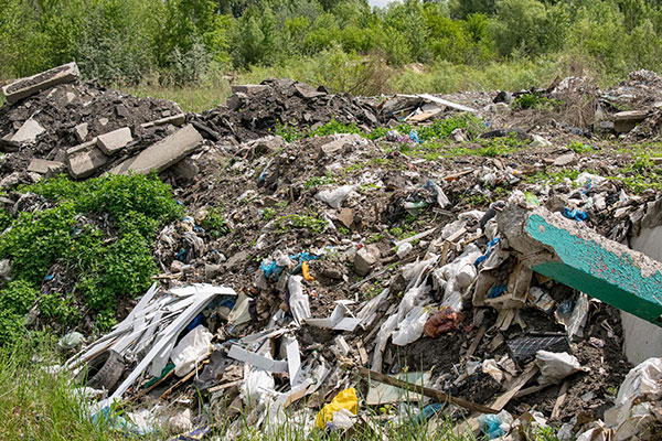 Illegal waste activity is creating big problems for the EA. Photograph: Maksym Dragunov/123RF