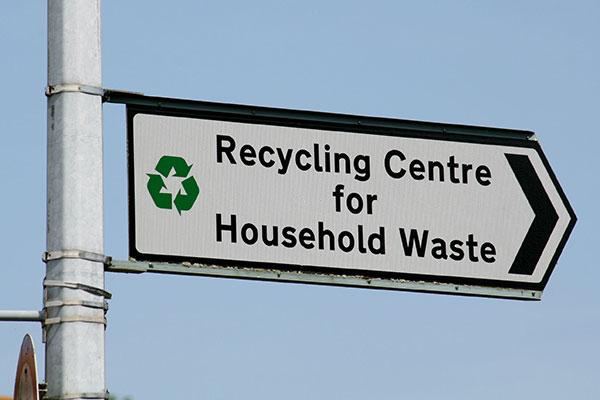 Recycling: figures show slight increase between 2015 and 2016. Photograph: Trevor Benbrook/123RF