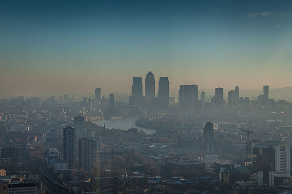 Air pollution: mayor announces expansion of London monitoring network. Photograph: 123RF