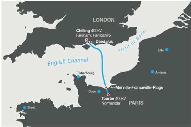 This is the first comprehensive decision from the MMO under the TEN-E Regulations and the first in the UK for a cross-border and multiple consenting regime interconnector project. Photograph: MMO