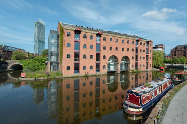 Manchester  canals: cities have a long history of problem solving and innovation. Photograph: Russell Hart/Alamy