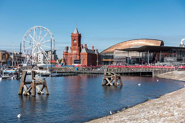 Cardiff Bay. Photograph: Philip Bird/123RF
