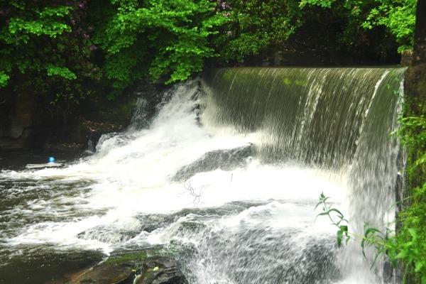 Cole dumped waste at the National Trust's Aberdulais Falls site. Photograph: Nilfanion/Wikimedia