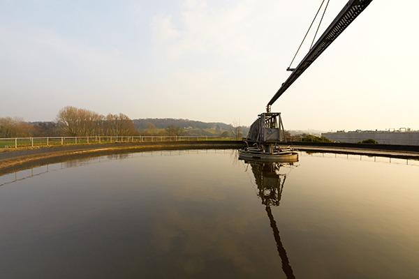 Stoke Bardolph sewage treatment works. Photograph: Severn Trent Water