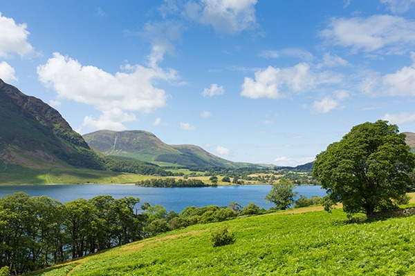 View of lake in the Lake District. Photograph: Michael Charles/123RF