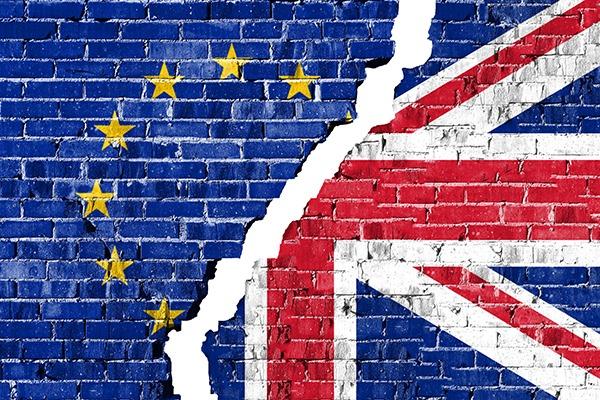 EU-UK flag illustration. Photograph: liorpt/123RF