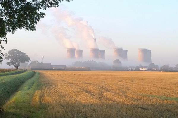 Eggborough power station. Photograph: Fu55play/Flickr