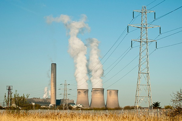 Fiddler's Ferry coal-fired plant. Photograph: Brian Maudsley/123RF