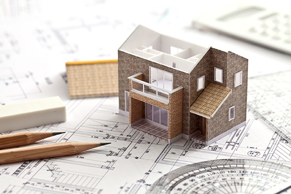 House building plans. Photograph: kazoka30/123RF