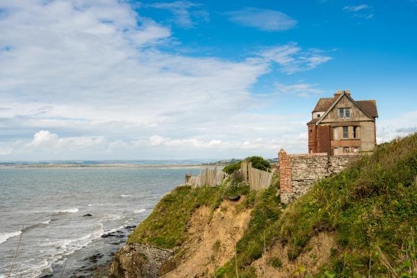 Mevagissey coastal erosion