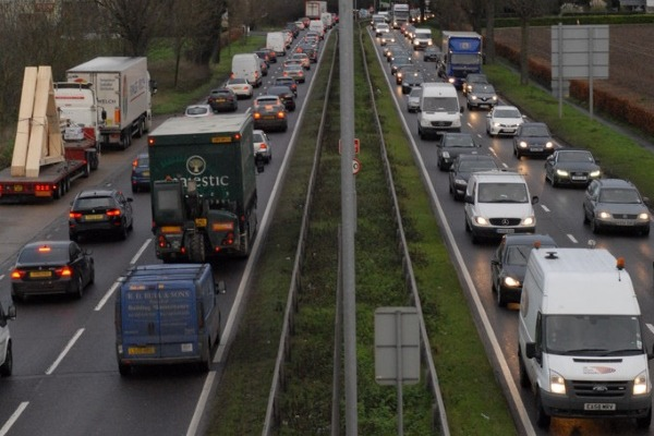 The A10 near Cheshunt is more polluted than had been thought