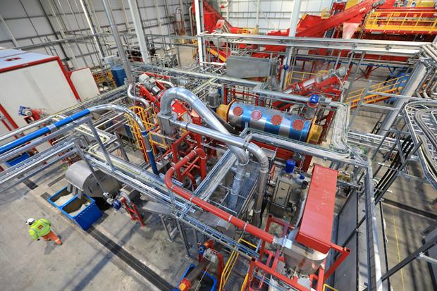 Biffa opened its £27.5m state-of-the-art recycling facility in Seaham, County Durham, in January