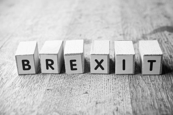 Brexit letter cubes