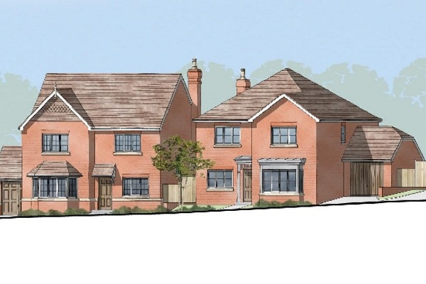 Part of Denton Homes' Burwash development