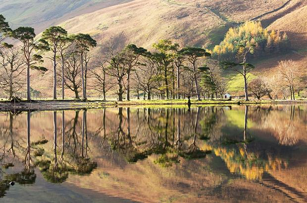 Buttermere in Cumbria. Photograph: Tom White/Getty Images