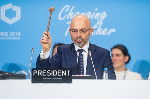 COP24 president Michal Kurtyka