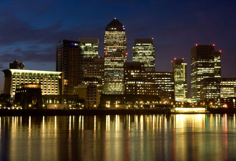 Canary Wharf, London: organisations have until 31 July to register as separate entities under the CRC