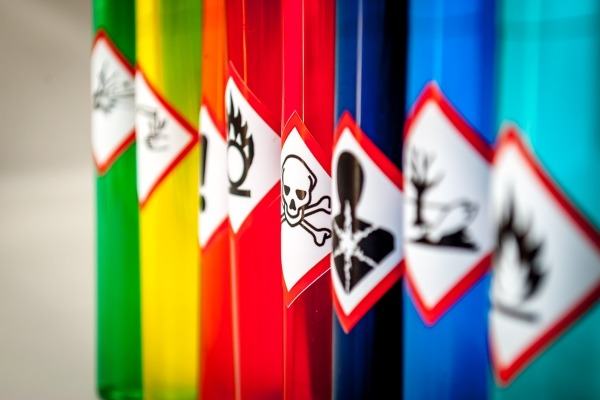 Chemical hazard pictograms