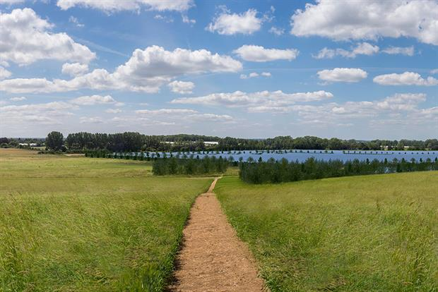 When built on the Cleve Hill site, a 350MW solar farm will provide 65% net gain and power more than 91,000 homes