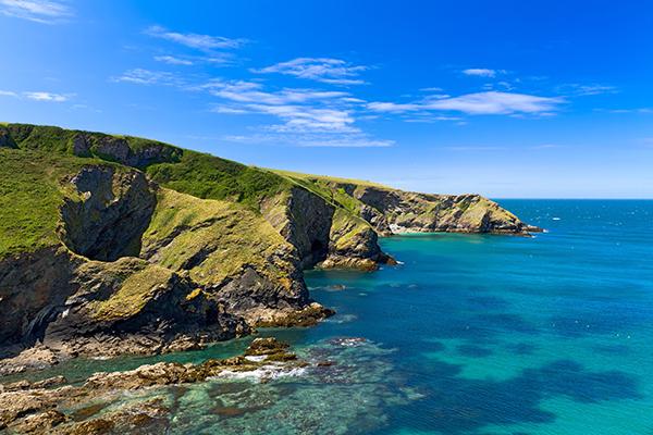 Cornish cliffs near Port Issac