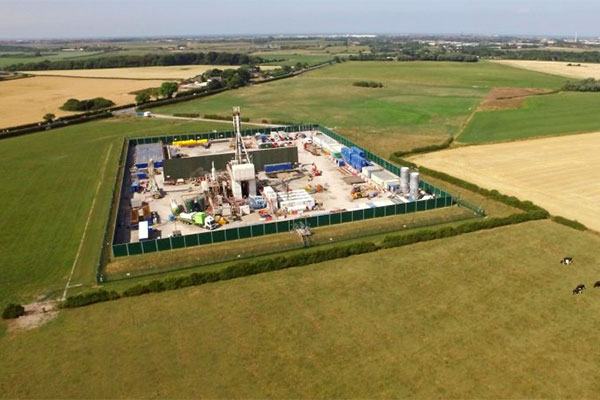 Cuadrilla Resources' Preston New Road fracking site