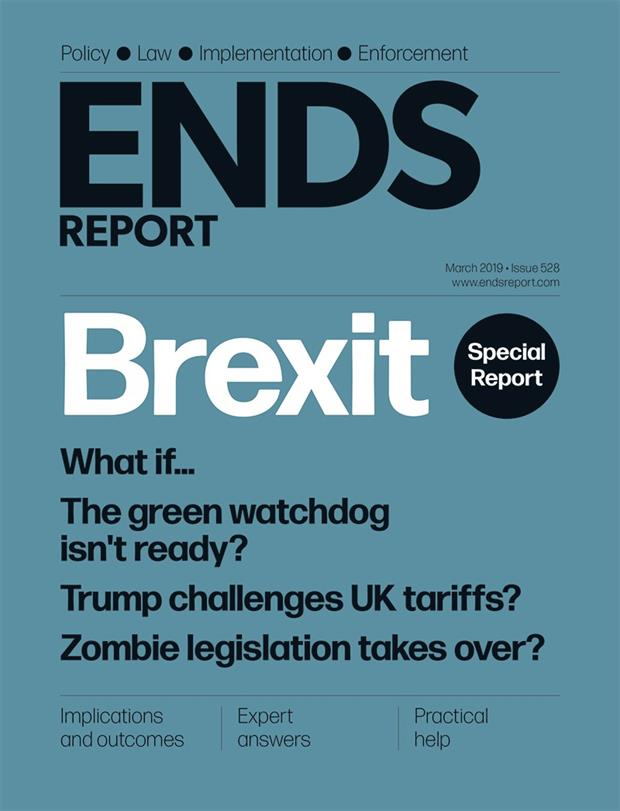 ENDS Report cover March 2019
