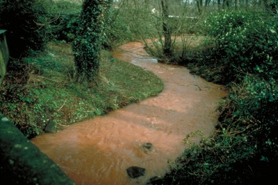 Silted-up river, from SEPA