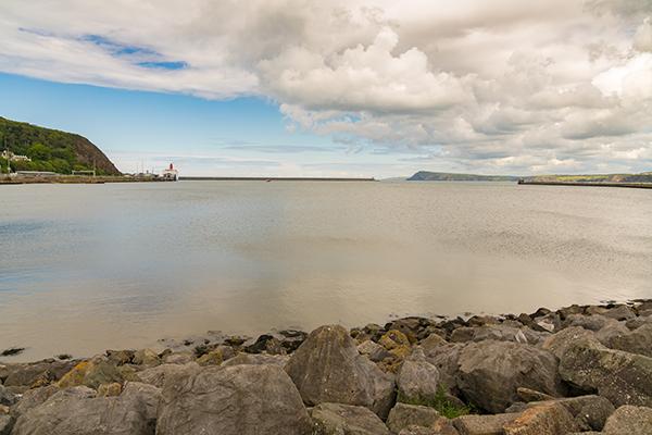 Fishguard bay, Wales