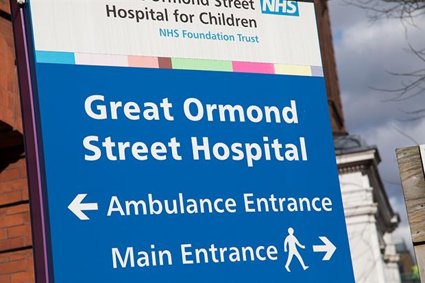 Great Ormond Street Hospital aims to act as a role model on reducing air pollution. Photograph: Mike Kemp/In Pictures via Getty Images