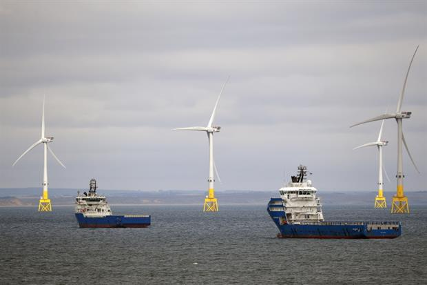References to offshore wind have been greatly expanded in the new energy NPSs. Photograph: Jeff J Mitchell / Getty Images
