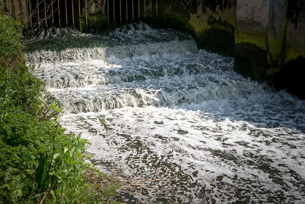 Water firms need to improved their sewer outflows. Photograph: Robert Brooks/Science Photo Library/Getty Images
