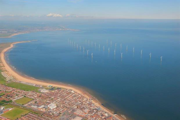 Vastly more offshore wind power will be needed to meet the Sixth Carbon Budget. Photograph: Heritage Images/Getty Images