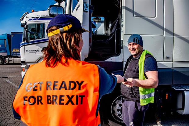 Rotterdam port: Supply chains risk serious disruption in a no-deal scenario. Photograph: ROBIN UTRECHT/AFP/Getty Images