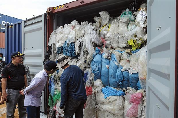 Plastic waste exporters will need to abide by changes to control procedures. Photograph: Andaru/Getty Images