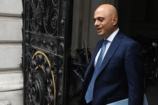 """Chancellor Sajid Javid has announced an """"end to austerity"""" and £90m in new green funding. Photograph: Leon Neal/Getty Images"""