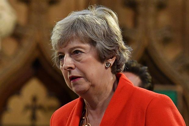 Theresa May is said to be back in the running to chair COP26: Photograph: Daniel Leal-Olivas/AFP/Getty Images