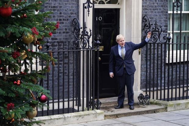 Boris Johnson has nailed his party to the mast of net zero. Photograph: Peter Summers / Getty Images