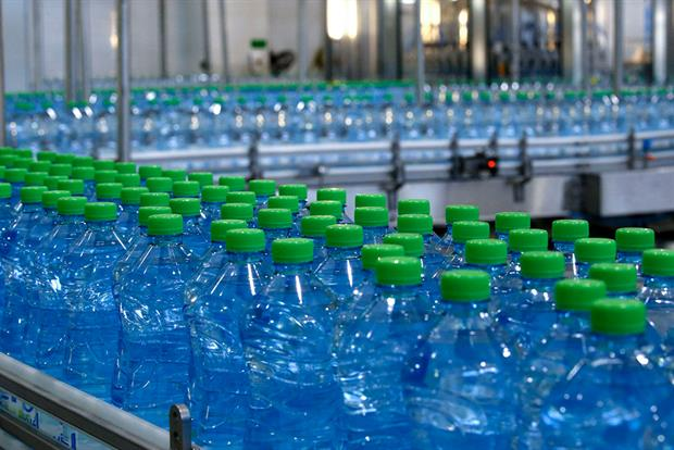 Plastic bottles must have 30% recycled content to avoid the tax. Photograph: Hazem Bader/Getty Images