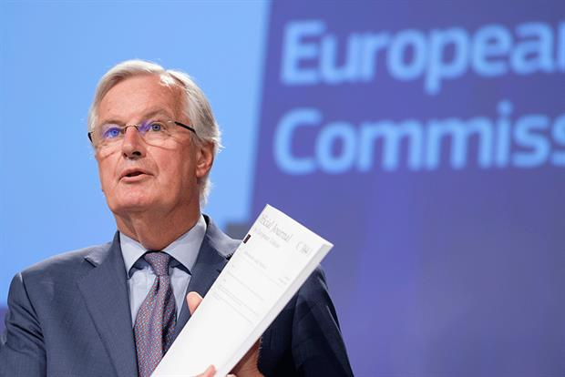 EU chief negotiator Michel Barnier has stressed that the bloc cannot accept a Canada-style trade agreement with the UK. Photograph: Thierry Monasse/Getty Images