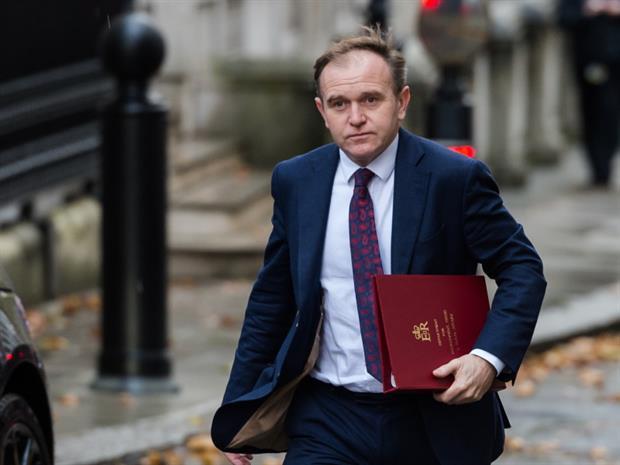 Environment minister George Eustice. Photograph: Wiktor Szymanowicz/Barcroft Media via Getty Images
