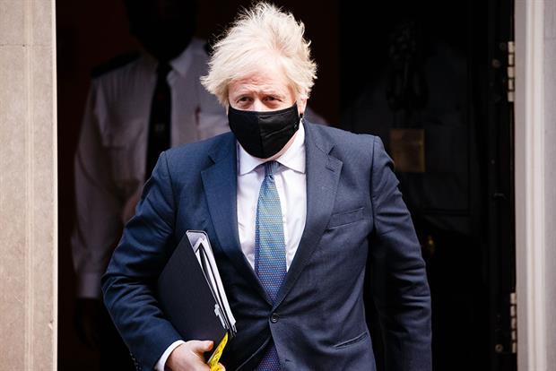 Boris Johnson, pictured yesterday. Photograph: NurPhoto/Getty Images
