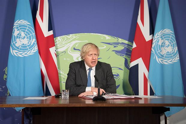 There is much to do before Johnson and other international leaders sit together at COP26. Photograph: WPA Pool/Getty Images
