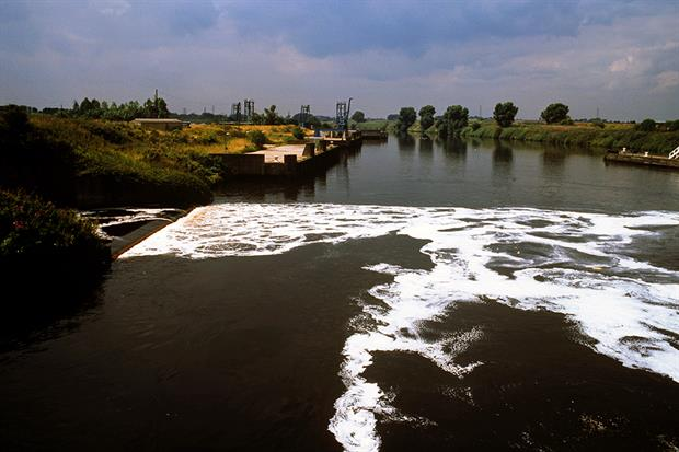 Scientists say the virus could reach rivers intact via sewage discharges. Photograph: Photofusion/Getty Images
