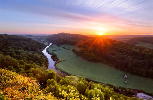 The river Wye suffers from agricultural pollution. Photograph: Joe Daniel Price/Getty Images