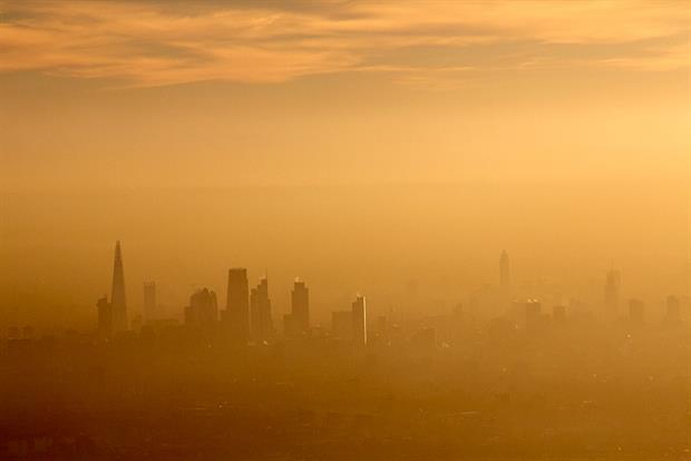 The government is resisting calls for it to set tougher particulate matter targets. Photograph: Andrew Holt/Getty Images