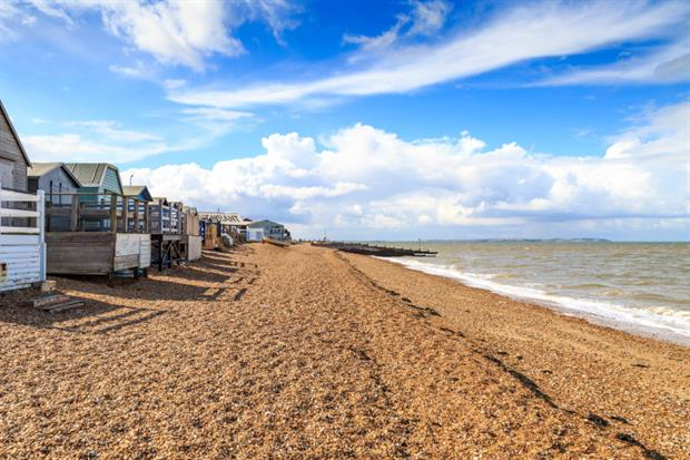 Some of the sewage was discharged at Whitstable. Photograph: Melanie Hobson / EyeEm / Getty Images