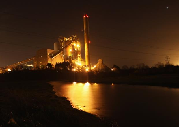 Now closed, Aberthaw power station was given a generous allocation under the TNP - until it was ruled unlawful. Photograph:  Matt Cardy / Getty Images