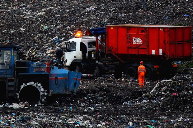 The debate over whether landfill could be less carbon intensive then Energy from Waste plants is far from over. Photograph: Jeff J Mitchell/Getty Images