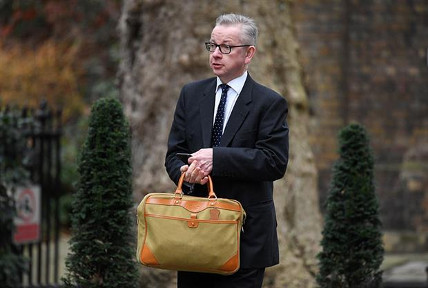 Micheal Gove says non-departmental public bodies could be merged after Brexit. Photograph: Leon Neal/Getty Images